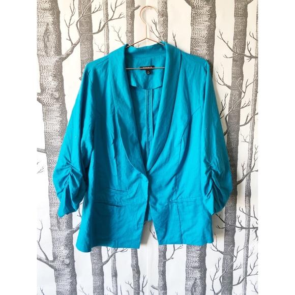 torrid Jackets & Blazers - //TORRID// Bright Blue Blazer